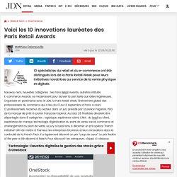 Voici les 10 innovations lauréates des Paris Retail Awards