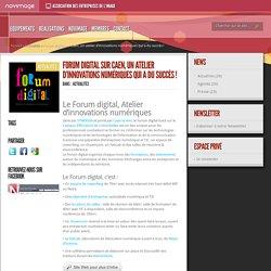 Forum digital sur Caen, un atelier d'innovations numériques qui a du succès !