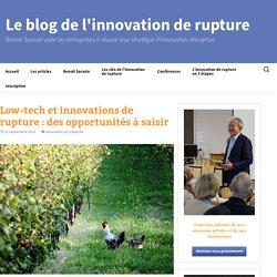 Low-tech et innovations de rupture : des opportunités à saisir