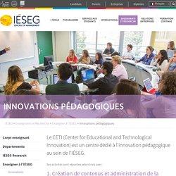 Innovations pédagogiques - IÉSEG