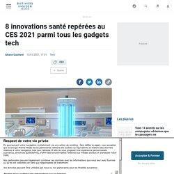 8 innovations santé repérées au CES 2021 parmi tous les gadgets tech