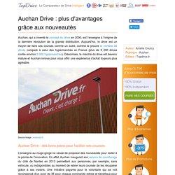 Auchan Drive : des innovations pour simplifier ses courses
