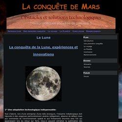 Innovations technologiques apportées par la conquête de la Lune