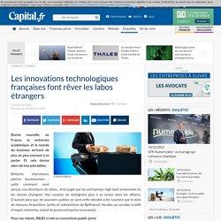 Les innovations technologiques françaises font rêver les labos étrangers
