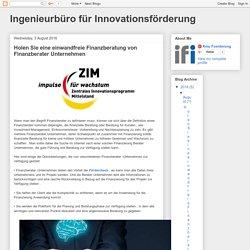 Ingenieurbüro für Innovationsförderung : Holen Sie eine einwandfreie Finanzberatung von Finanzberater Unternehmen