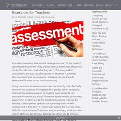 10 Innovative Formative Assessment Examples for Teachers