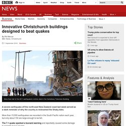 Innovative Christchurch buildings designed to beat quakes
