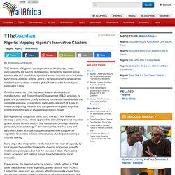 Nigeria: Mapping Nigeria's Innovative Clusters - allAfrica.com