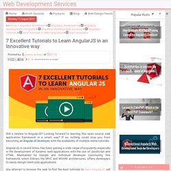 7 Excellent Tutorials to Learn AngularJS in an Innovative way