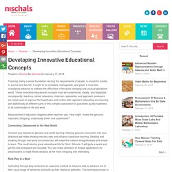 Innovative Educational Concepts