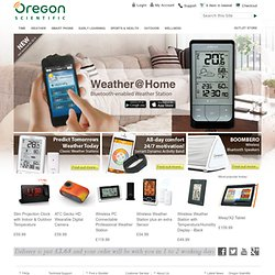 Innovative Livestyle & Consumer Electronics | Oregon Scientific