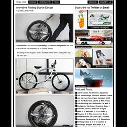 Innovative Folding Bicycle Design
