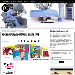 Most Innovative Companies - Health Care