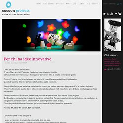 Cocoon Projects - Value Driven Innovation