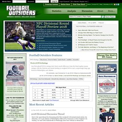 FOOTBALL OUTSIDERS: Innovative Statistics, Intelligent Analysis