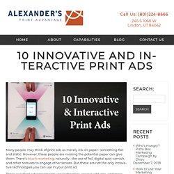Alexanders Print Advantage - Web To Print Experts