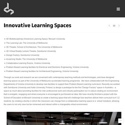 Innovative Learning Spaces
