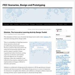 Edukata, The Innovative Learning Activity Design Toolkit