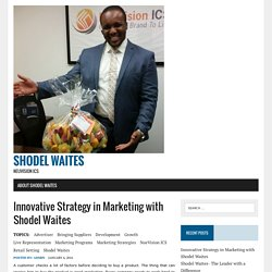 Innovative Strategy in Marketing with Shodel Waites