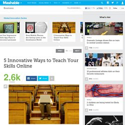 5 Innovative Ways to Teach Your Skills Online