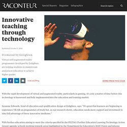 Innovative teaching through technology - Raconteur