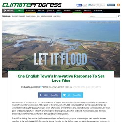 One English Town's Innovative Response To Sea Level Rise