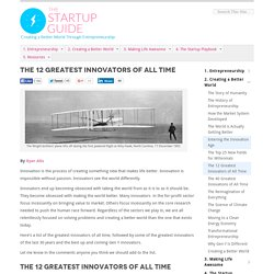 The Startup Guide - Creating a Better World Through Entrepreneurship
