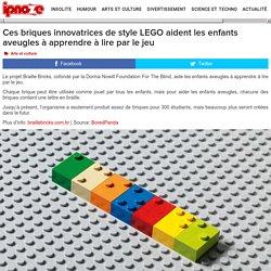 Ces briques innovatrices de style LEGO aident les enfants aveugles à apprendre à lire par le jeu