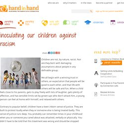 Inoculating Our Children Against Racism