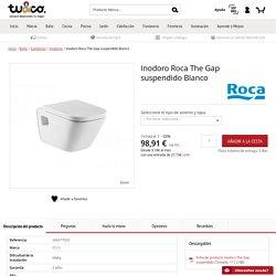 Inodoro Roca The Gap suspendido Blanco