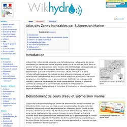 Atlas des Zones Inondables par Submersion Marine