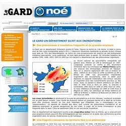 Le Gard et le risque inondation - NOE - Prévention des risques inondations dans le Gard : tous acteurs !