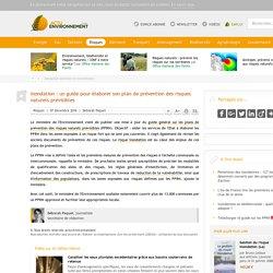 Inondation: un guide pour élaborer son plan de prévention des risques naturels prévisibles (PPRNT) - 07/12/16