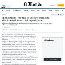 Inondations: montée de la Seine au ralenti, des évacuations en région parisienne