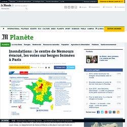 Inondations: le centre de Nemours évacué, les voies sur berges fermées à Paris