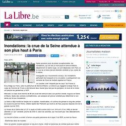 Inondations: la crue de la Seine attendue à son plus haut à Paris