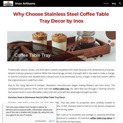 Inox Artisans - Blog