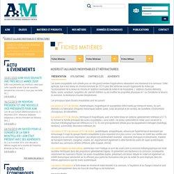 Aciers et alliages inoxydables et réfractaires - A3M