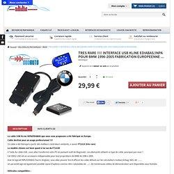 INPA/EDIABAS USB - Logiciel diag auto BMW - obdauto