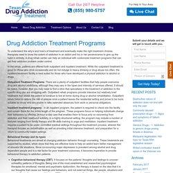 Outpatient Drug Treatment Texas