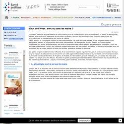 Inpes - Communiqué de presse - Virus de l'hiver : avec ou sans les mains ?