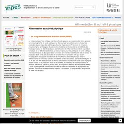 INPES - Nutrition
