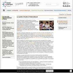 INPES - La santé à l'école à l'international