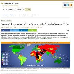 Le recul inquiétant de la démocratie à l'échelle mondiale
