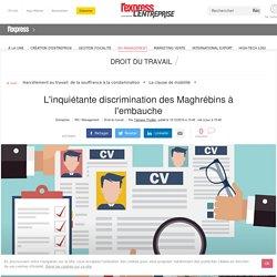 12c2016 L'inquiétante discrimination des Maghrébins à l'embauche