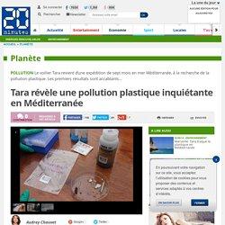 20MINUTES 24/11/14 Tara révèle une pollution plastique inquiétante en Méditerranée