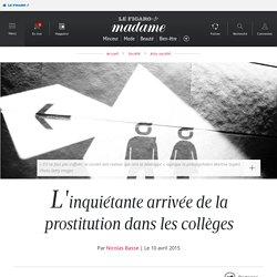L'inquiétante arrivée de la prostitution dans les collèges