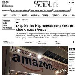Enquête : les inquiétantes conditions de travail chez Amazon France