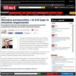 La CNIL s'inquiète de l'avenir de nos données personnelles