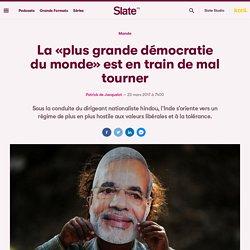 «Vous vous inquiétez de l'arrivée au pouvoir de Le Pen. Nous, nous avons déjà Modi!»